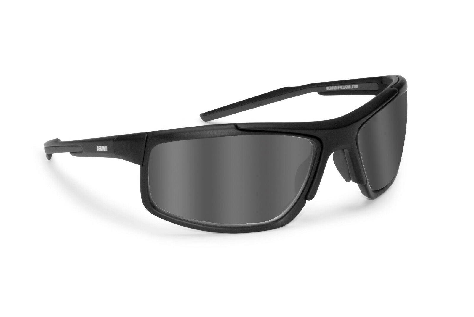 Bertoni Sport Technical Photochromic Polarized Sunglasses for Cycling - P180FTA