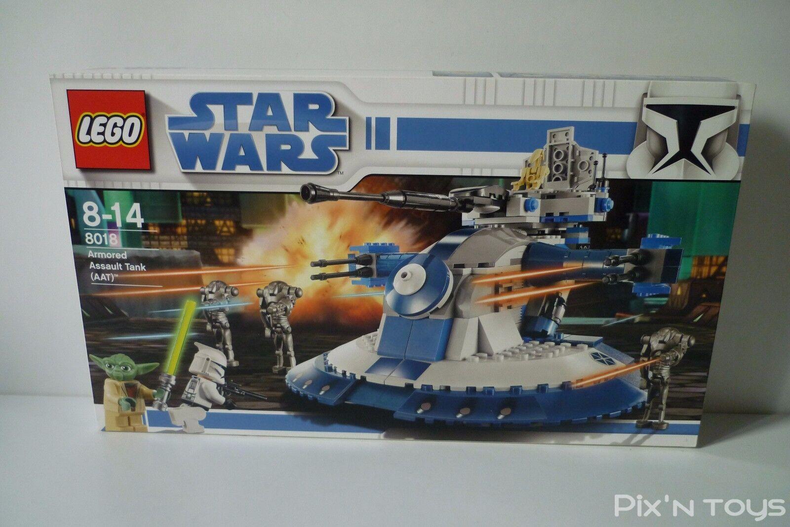 LEGO STAR WARS / 8018 AAT Armorosso Assault Tank [ Neuf ]