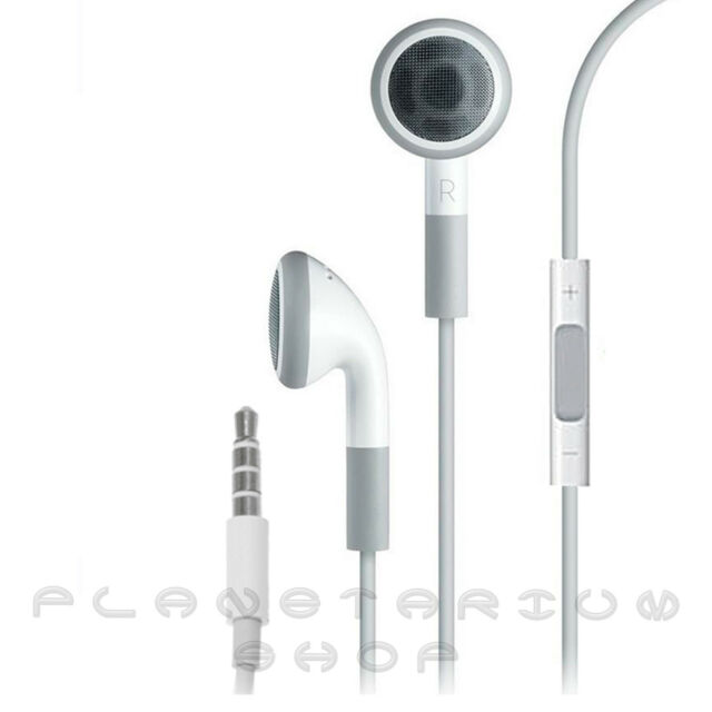 AURICULARES CON MICROFONO PARA APPLE IPHONE 4 4S S 3 3G 3GS IPAD 2 3 IPOD MICRO