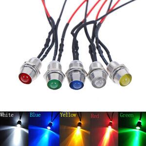 0-31-034-LED-Voyant-En-Metal-Pilote-Dash-LiHUt-Lampe-12V-Camion-De-Voiture-Rou-ffw
