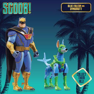 BLUE FALCON Scoob Movie Zag Domez Collectible Mini Figure Scooby Doo