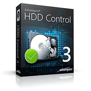 HonnêTe Ashampoo Hdd Control 3 Deutsche Version Complète Esd Téléchargement 14,99 Au Lieu De 29,99!!!-afficher Le Titre D'origine Brillant En Couleur