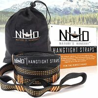 Hammock Tree Straps. 2000+ Lbs Breaking Strength Combined. Xl Long, Ultralight, on sale