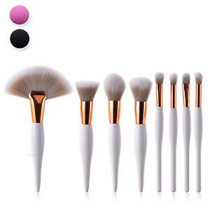 Premium Make up Brush Cosmetic Kabuki Set 8pc Kit Eyeshadow Powder
