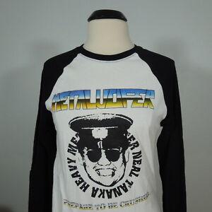 METALUCIFER-Neal-Tanaka-White-Official-Raglan-LongSleeves-XL-R-I-P-Records-NEW