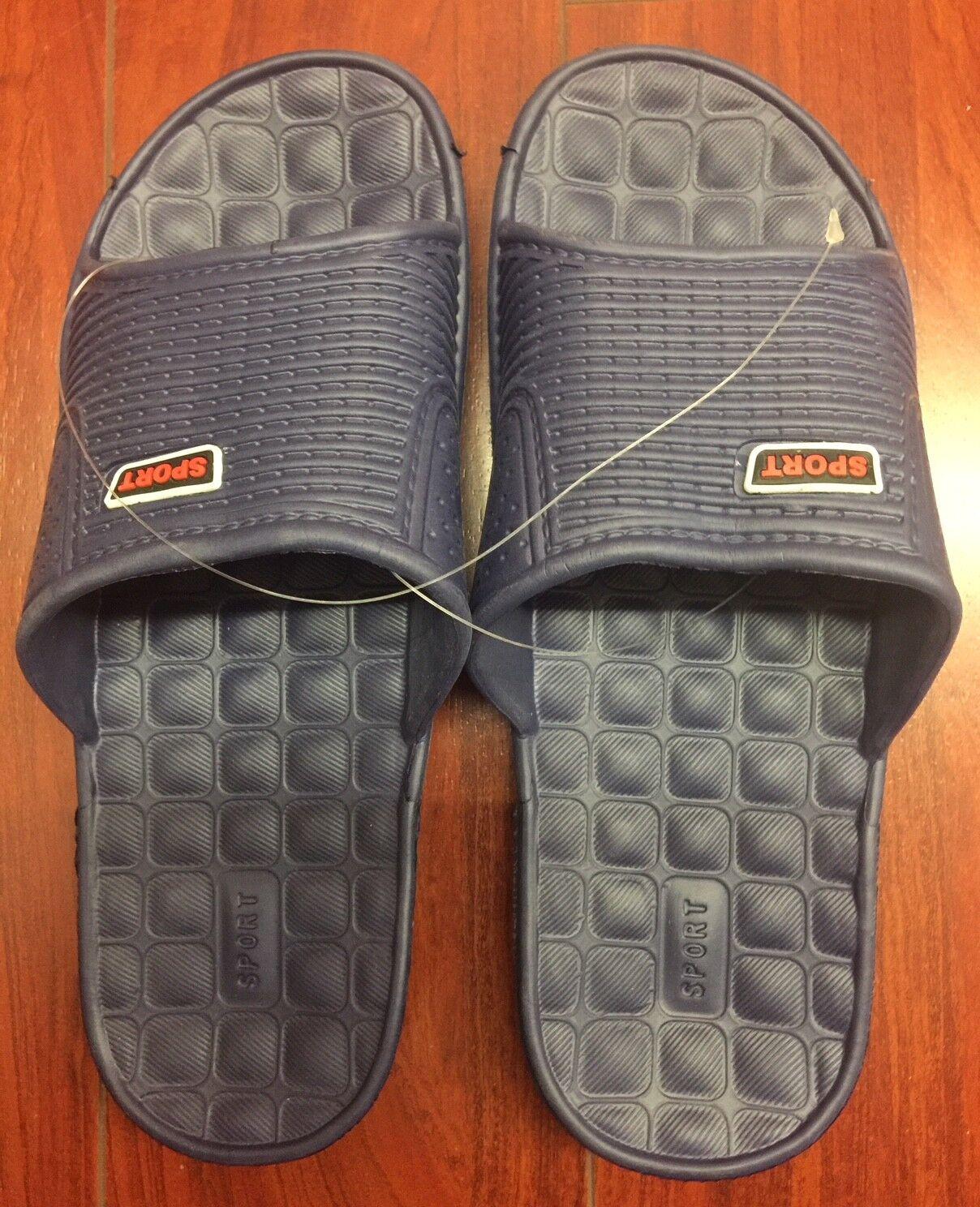 Womens Men  Flip Flop Sport Shower  Slippers Shoes Plastic Slip Sandals Slippers  Size:8 4da1c2