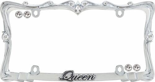 Chrome//Clear w//fastener caps 22630 Cruiser Accessories Queen