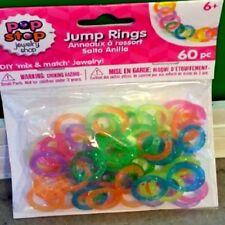 Pop Stop Jewelry Shop Kids Mini Plastic Bottle Cap Charms 25pc Kids Favors BR