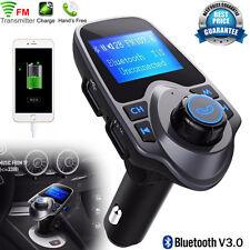 Kit Bluetooth Per Auto MP3 Lettore trasmettitore FM Radio Wireless Adattatore