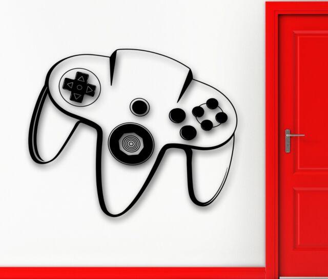 Wall Sticker Vinyl Decal Video Game Controller Joystick Xbox Kid Nusery (ig1168)