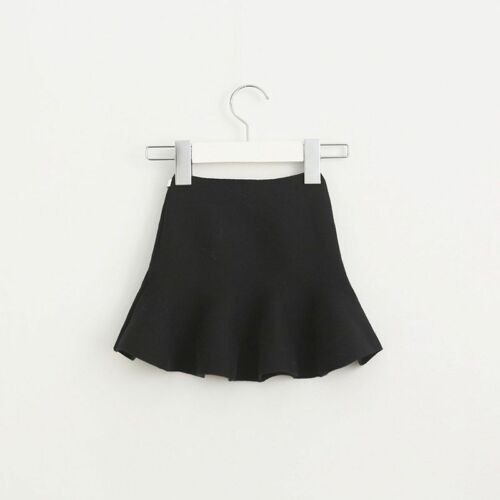 Skirt Pleated For Children Knitting Bottoming Toddler Baby Girl Clothing 2-6Yrs