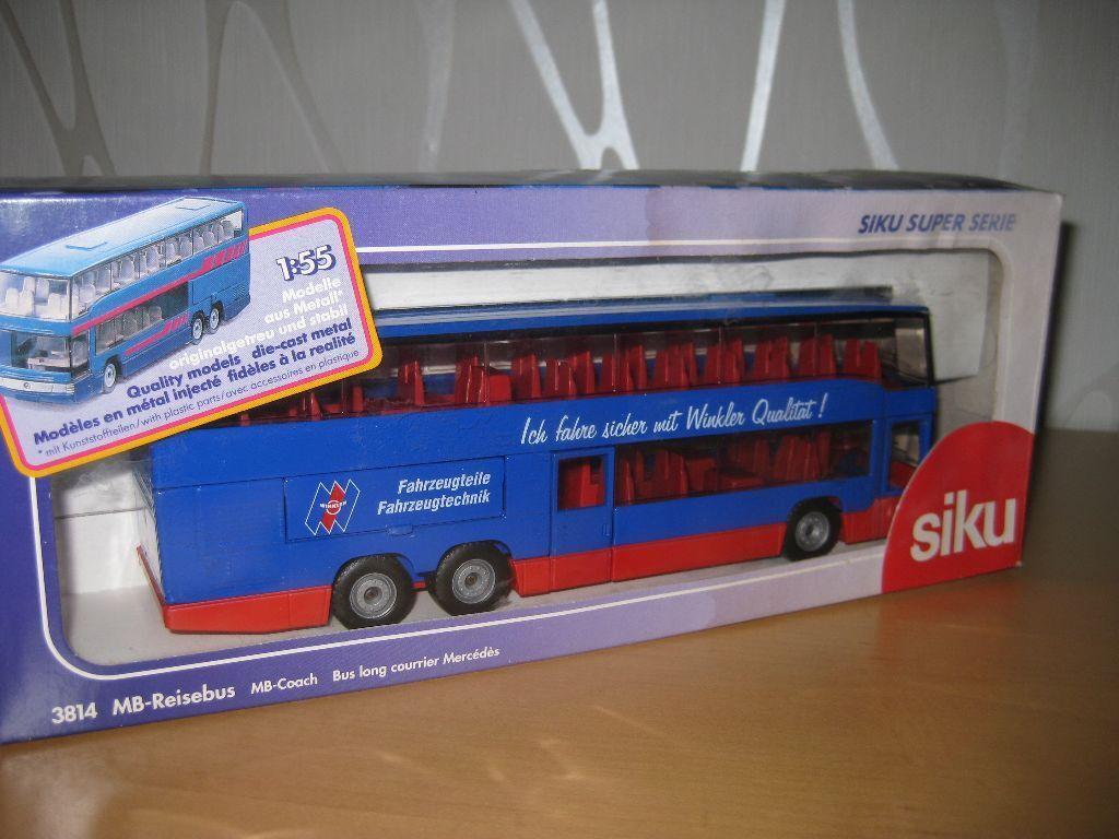 Siku 3814 MB-autobús MB-autobús MB-autobús chocó werbemodell Winkler en OVP af94cb
