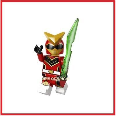 Lego Minifigures Series 20 71027 Super Warrior Power Ranger