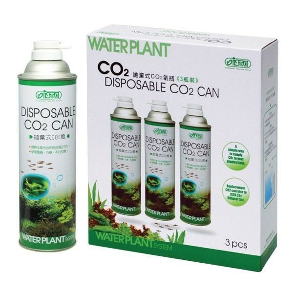Ista Aquarium Disposable Co2 Canister x 3 in a Box