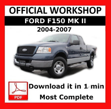 ford f 150 f 150 2004 2005 2006 repair service workshop manual ebay rh ebay com 2004 ford f 150 workshop manual free pdf Ford F-150 Manual Transmission Diagram