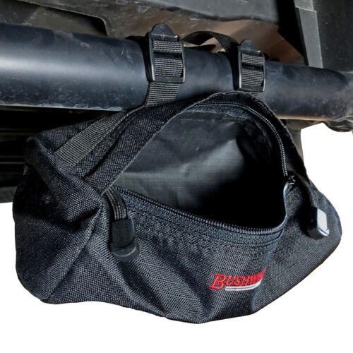 """Bushwhacker UTV Small Cylinder Bag for Roll Bar 8.5/"""" x 4/"""" Side by Side Organizer"""