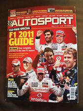 17 MARCH 2011 AUTOSPORT MAGAZINE - 133-PAGE F1 2011 GUIDE