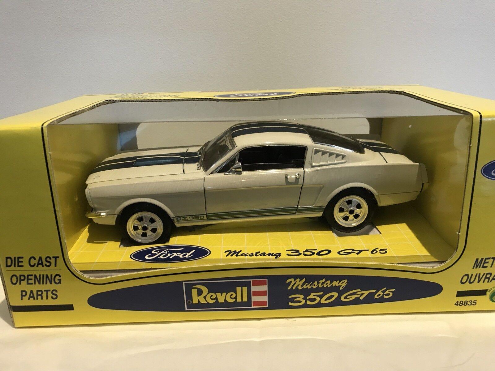 RARE REVELL JOUEF 48835 Ford Mustang GT350 1 18 NUOVI E CONFEZIONATI