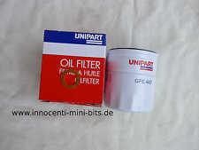 Austin Innocenti Mini Ölfilter original Unipart + Kupferring Ölablaßschraube