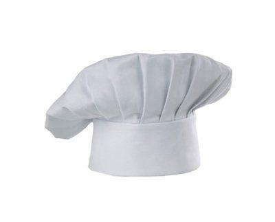 Adulti Alto Bianco Chef Baker Cucinare Chef Panno Hat Costume Accessorio-mostra Il Titolo Originale Grande Assortimento