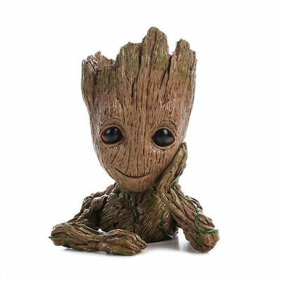 Baby Groot Figur Stifthalter Blumentopf Geschenk Kinder Deko Avenger Pflanzentop