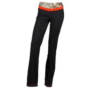 Realtree-Girl-Women-039-s-Selina-Yoga-Workout-Pants-Blaze-Camo-CHOOSE-SIZE-T28