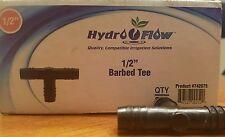 "Hydro Flow #742075 - 1/2 "" barbed tee - Bag of 10"