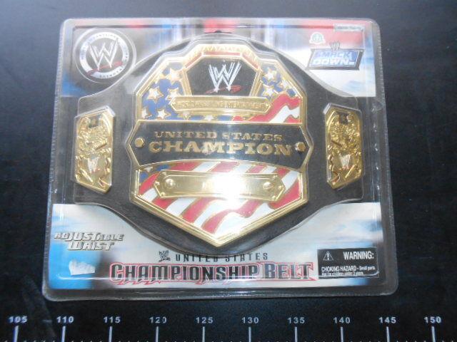 Vintage WWE Jakks Kids US United States Championship  Replica Belt Cena WWF WCW