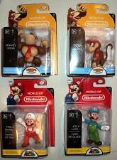"WORLD OF NINTENDO OFFICIAL LICENCED COMPLETE SET 2.5"" STATUES x 4 FIGURES MISB"