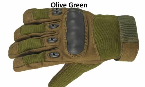Military Tactical Assault Combat Gloves Hard Knuckle Army Security Airsoft S-XL