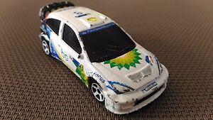 Voiture-Miniature-Majorette-Ford-Focus-WRC-BP-201A-En-Bon-Etat