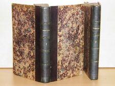 PAULIN-DESORMEAUX Manuel Complet du Serrurier 2T Texte + ATLAS 16 PLANCHES 1854