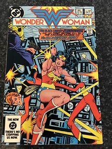 Wonder Woman 308 Nm Black Canary Elongated Man Dc Comics Sa Ebay