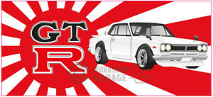 New-Collectable-Rising-Sun-Nissan-Skyline-Hakosuka-2000GT-white