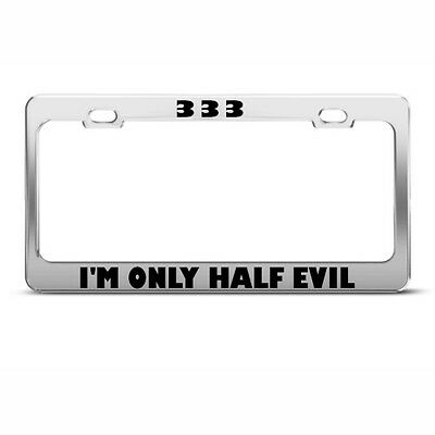 FUNNY Metal License Plate Frame Tag Holder IS IT FRIDAY YET