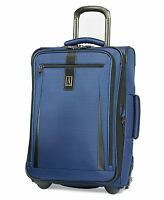 Travelpro Marquis 20 In. Carry-on Expandable Rollaboard -luggage Blue -msrp $320