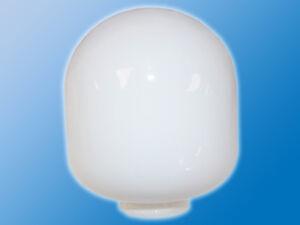 Lampen-Ersatzglas-Weiss-Glaenzend-122mm-Milchglas-Lampenglas-V-10