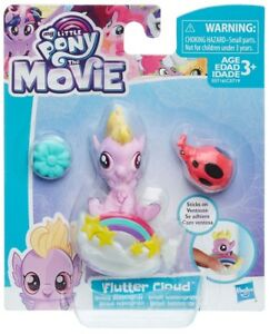 Details about My Little Pony The Movie Flutter Cloud Baby Hippogriff Mini  Figure