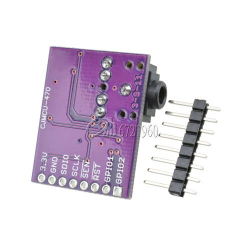 TOP Si4703 FM RDS Tuner Breakout Board For AVR ARM PIC Arduino Compatible