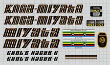 sku Miya-S106 Koga Miyata Pro Racer Bicycle Decal Set