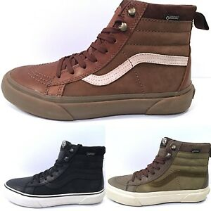ac1e875332 Vans Sk8 Hi (Gore-tex) All Weather MTE Mountain Bison Black Green ...