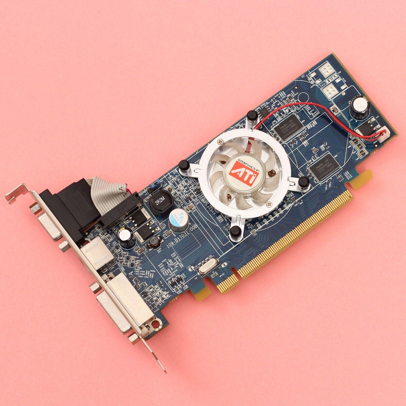 ATI Radeon HD2400 PRO 128MB DDR2 PCI-E Video Card DVI/VGA/S-Video *WORKING*