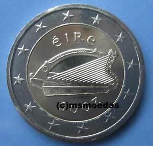 Irland Kursmünze Euromünze Wahl zwischen 2002 bis 2021 und 1 Cent bis 2 Euro