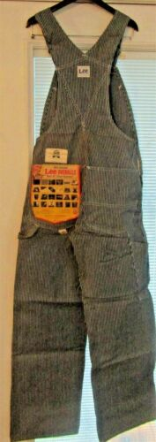 Vintage LEE Hickory Stripe Overalls Union Made San