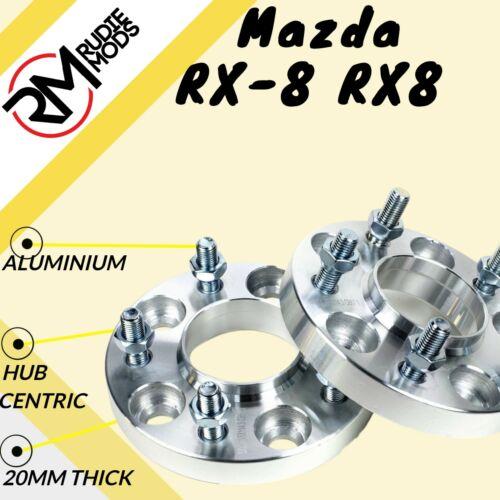 Mazda RX-8 RX8 5x114.3 67.1 20mm Hubcentric Rueda Espaciadores 1 Par