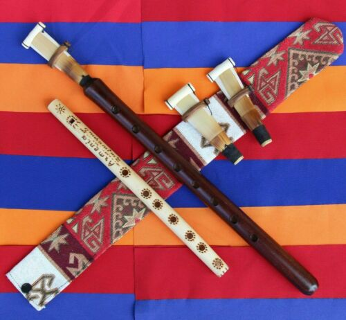 Duduk aus Armenien 3 reeds Etui Flöte Mey Mundstück Neu Armenian duduk flute