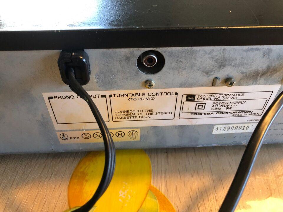 Pladespiller, Andet, Toshiba SR-V10