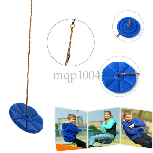 Daisy Disc Swing Seat Blue Set Playground Accessories Free Rope By Summersdream