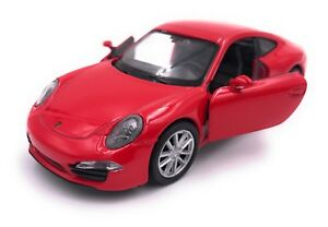 Porsche-911-Carrera-S-Modellauto-Auto-LIZENZPRODUKT-1-34-1-39-versch-Farben