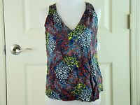Old Navy Floral Sleeveless Shirt Top - Size Xs